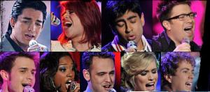 American Idol 8 - Top 9
