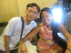 with Gelli of The Ride