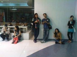 mga stranded sa SM